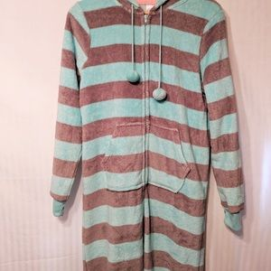 Fleece One Piece Pajamas Soft & Comfy